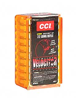 CCI/Speer Velocitor 22LR 40Gr Hollow Point 50 5000 47