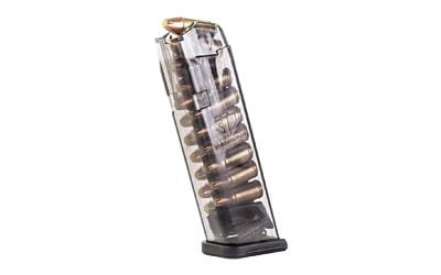 ETS MAG FOR GLK 9MM 17RD SMOKE