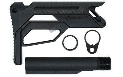 FORTIS LA STOCK W/BUFFER TUBE BLK