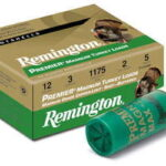 Remington Premium Mag Turkey 12Ga 3.5″ Max Dr 2.25oz Shotshell Copper Plated/HV 10 100 26847