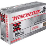 Winchester Super-X 357 Mag 158Gr Jacketed Soft Point 50 500 X3575P