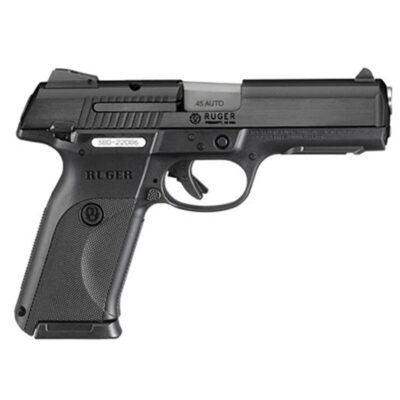 "Ruger SR45 Semi Auto 45 ACP 4.5"" Barrel 10 Rounds Black"