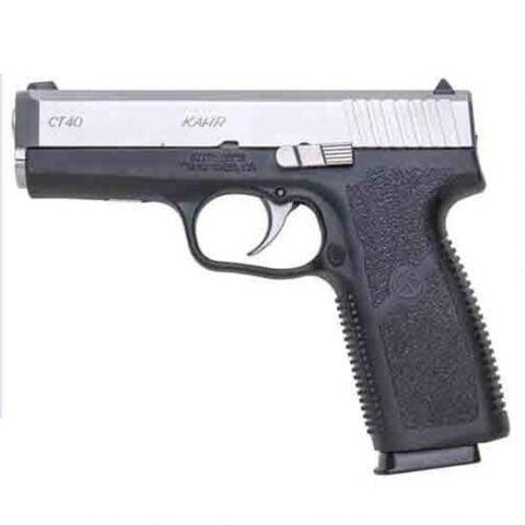 "Kahr Arms CT40 Semi Auto Handgun .40 S&W 4"" Barrel 7 Rounds Polymer Frame Stainless Steel Slide CT4043"