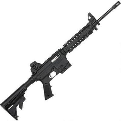 """Mossberg 715 Tactical Semi Auto Rifle .22 LR 16.25"""" Barrel 25 Rounds Flat Top Upper Quad Rail Fixed Stock Black Finish 37207"""