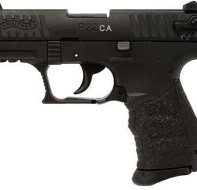 Walther Arms 5120333 P22 CA Pistol 22 Long Rifle