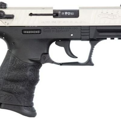 Walther Arms 5120336 P22 Pistol 22 LR 3.42