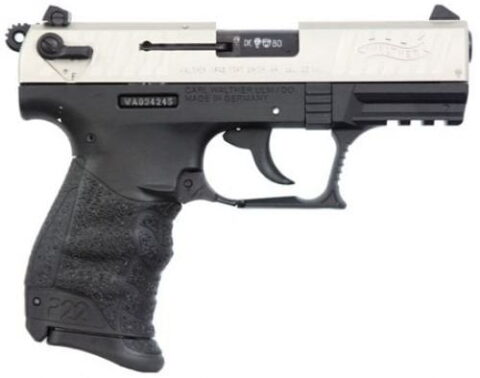 Walther Arms 5120336 P22 Pistol 22 LR 3.42″ 10+1