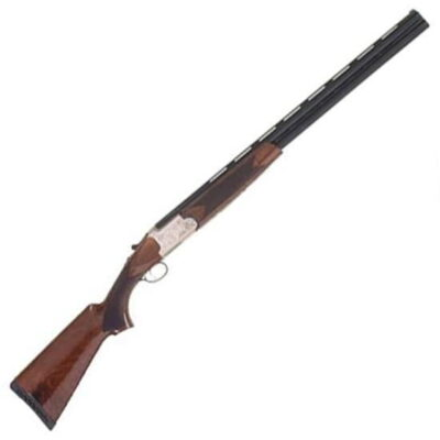 "TriStar Setter S/T Over/Under Shotgun .410 Bore 28"" Barrel 3"" Chamber 2 Round Capacity Walnut Stock Satin Silver Finish 30418"