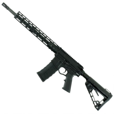 "ATI Omni Hybrid Maxx AR-15 Semi Auto Rifle .300 Blackout 16"" Barrel 30 Rounds Metal 10"" KeyMod Handguard Collapsible Stock Black"