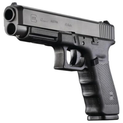 "Glock G41 Gen4 45 ACP 5.31"" Barrel, Fixed Sights Poly Grip/Frame Black, 10rd"