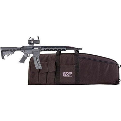 Smith & Wesson M&P15-22 Sport Kit, Semi-Automatic, .22LR, with Red Dot and Soft Case, 25+1