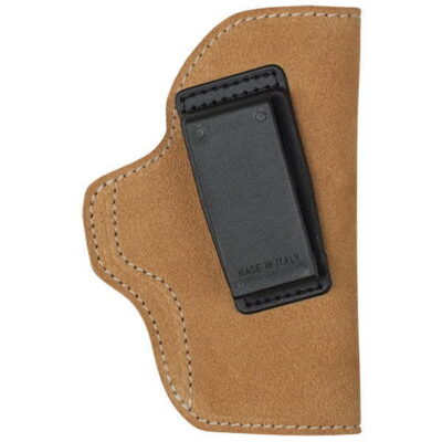 Blackhawk Suede Leather Angle Adjustable ISP Holster for Glock 30/Smith & Wesson M&P Compact and other Wide Frame Compact Autos Right Hand Brown