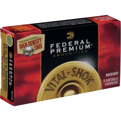 "Federal Vital-Shok 12 Ga 2.75"" 00 Buck High Density 5 rds"