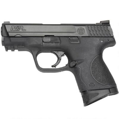 "S&W M&P Compact Semi Automatic Pistol .40 S&W 3.5"" Barrel 10 Round Capacity Polymer Grip Matte Black Finish 109303"