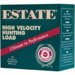 Estate Cartridge High Velocity Hunting Load 12 Gauge Ammunition 2-3/4″ Shell #4 Lead Shot 1-1/4oz 1330fps