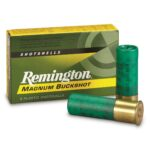Remington 12 Gauge Ammunition Five Rounds 41 Pellets #4 Buck 3″