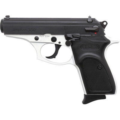 "Bersa Thunder .380 ACP Semi Auto Pistol 3.5"" Barrel 8 Rounds Black Polymer Grips Two Tone White/Black Finish"