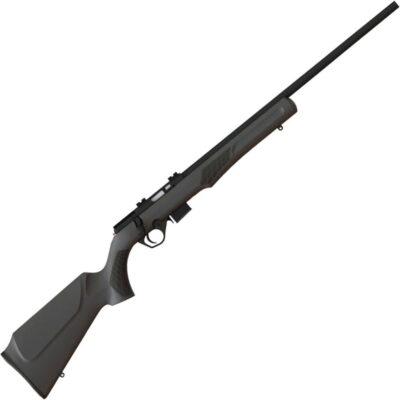 "Rossi RB17 Bolt Action Rimfire Rifle .17 HMR 21"" Barrel 5 Rounds Weaver Scope Mount Synthetic Stock Matte Black Finish"