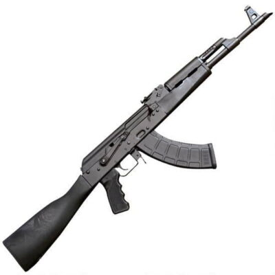 "Century Arms International RAS47 Semi Auto Rifle 7.62x39mm 16.5"" Barrel 30 Rounds Polymer Furniture Black"