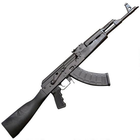 "Century Arms International RAS47 Semi Auto Rifle 7.62x39mm 16.5"" Barrel 30 Rounds Polymer Furniture Black"