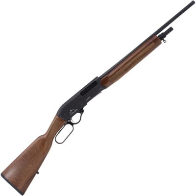 "Century Arms Adler A110 .410 Bore Lever Action Shotgun 20"" Barrel 3"" Chamber 4 Rounds Fixed Modified Choke Walnut Stock Black Finish"