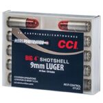 CCI Big 4, 9mm Luger, #4 Shot, Centerfire Softshell, 10 Rounds