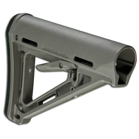 Magpul MOE Commercial AR-15 Carbine Stock With Sling Attachment Points Rubber Buttpad Polymer Foliage Green MAG401-FOL