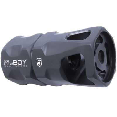 Phase 5 littleBOY Hex Break .223 Rem/5.56 NATO AR-15 Muzzle Brake with Crush Washer 1/2x28 TPI Steel littleBOY-556