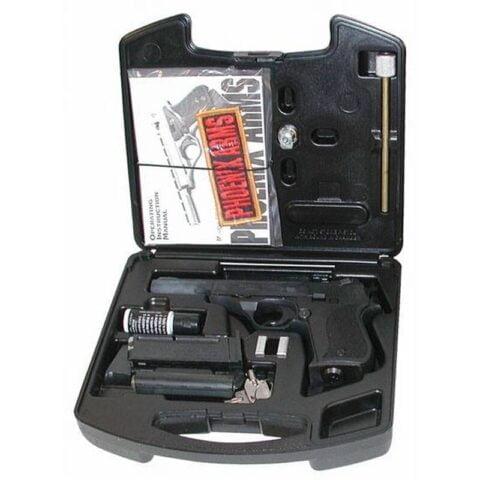"Phoenix Arms Deluxe Range Kit, .22 Long Rifle, 3"" and 5"" Barrels, 10 Rounds, Matte Black"