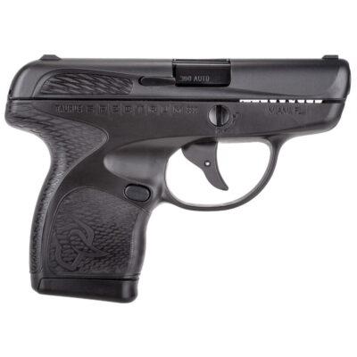 "Taurus Spectrum Semi Auto Pistol .380 ACP 2.8"" Barrel 6/7 Round Magazines Low Profile Fixed Sights Polymer Frame Matte Black"