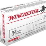 Winchester 32 Auto 71 gr FMJ 50/Box