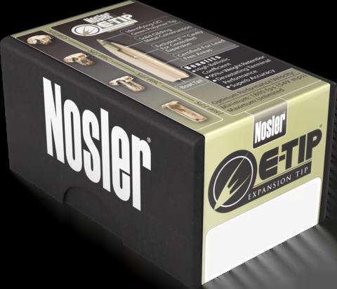 Nosler 40140 E-Tip Hunting 22 Nosler 55 GR E-Tip - 20rd Box