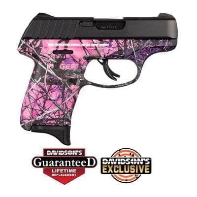 Ruger 3288 EC9S Pistol 9mm 3in 7rd Muddy Girl Camo