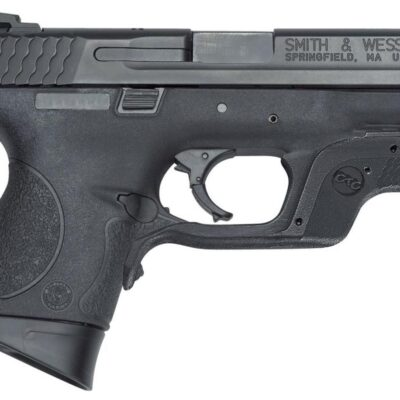 "Smith & Wesson M&P40C, .40 S&W, 3.5"", 10rd, W/Crimson Trace Laserguard"