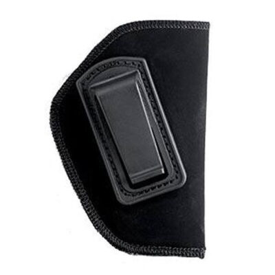 "BLACKHAWK! Inside the Pants Holster for 4"" Barrel Medium and Intermediate Frame Revolvers, Right Hand, Belt Clip, Black"
