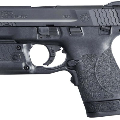 Smith & Wesson M&P9 Shield M2.0 9mm Centerfire Pistol with Laserguard Pro Green Laser and Light