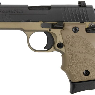Sig Sauer P938 Combat 9mm 3-inch 7rds Night Sights 938-9-CBT
