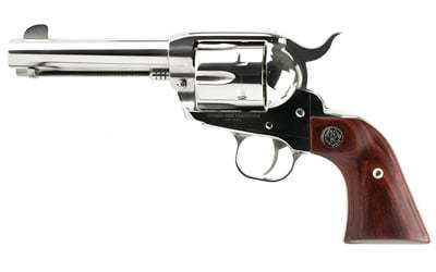 Ruger Vaquero Stainless, Single-Action Revolver, 45 Colt, 4 6