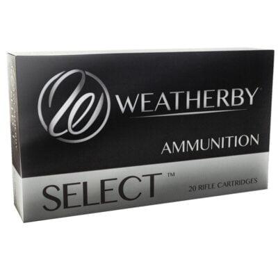 Weatherby Select .300 Wby Magnum Ammunition, 20 Rounds, SP, 180 Grains