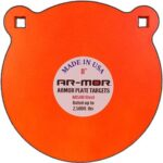 """Ar-mor 8"""" Ar500 Steel Gong"""