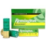 Remington Express 12 Gauge 2.75″ #0 Buck 5 Round Box