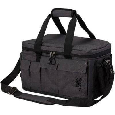 Browning Range Pro Range Bag Adjustable dividers Rip Stop Shell Nylon Black