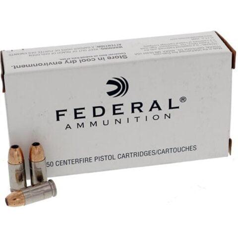 Federal LE Classic 9mm Luger +P+ Ammunition 50 Rounds 115 Grain Hi-Shok JHP Bullet 1300fps
