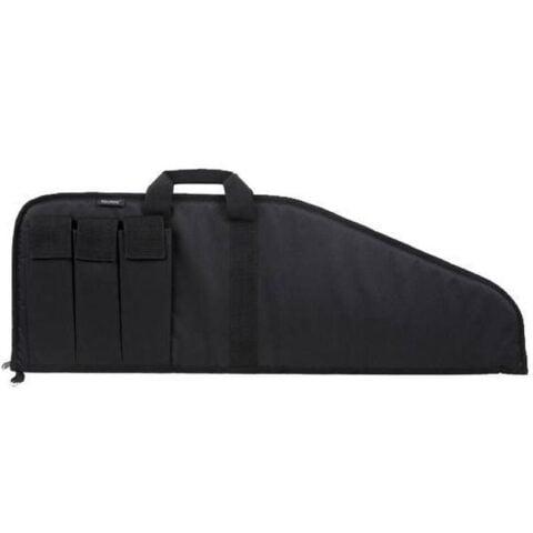 "Bulldog Cases Pit Bull Tactical Case 38"" Nylon Soft Padding Extra Magazine Pouches Velcro Flaps Floats Black BD499-38"