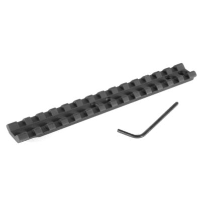 EGW One Piece Picatinny Style Scope Base Mount Mossberg 500/590/835/930/935 Late After 1997 Shotgun Aluminum Matte Black