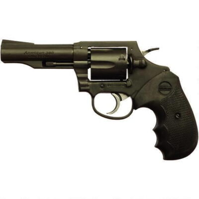 "Rock Island Armory M200 Revolver .38 Special 4"" Barrel 6 Rounds Fixed Sights Polymer Grips Black"