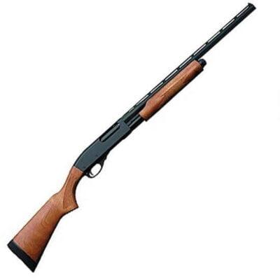 "Remington Model 870 Express Youth 20 Gauge Pump Action Shotgun, 21"" Barrel, 4 Rounds, Black"