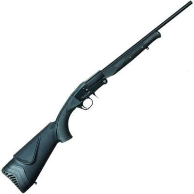 "Midland Backpack Single Shot Break Action Shotgun 20 Gauge 24"" Barrel 3"" Chamber 1 Round Foldable Design Synthetic Stock Black Finish"
