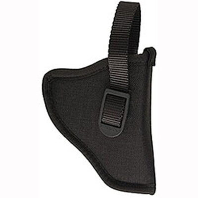 Uncle Mike's Sidekick Left-Handed Belt Holster for GLOCK 26, 27 & 33, Nylon, Black