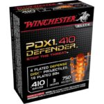 "Winchester USA PDX1 .410 3"" 4 Disc/16 Plated BB 10 Rnd Box"